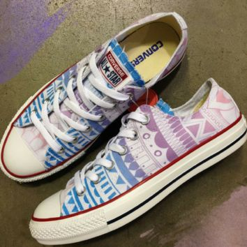 Tibetan Dreams Converse Low Top