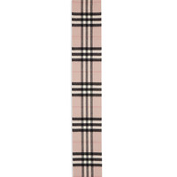 Kids Exploded Check Cashmere Scarf, Ash Rose