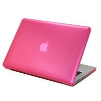 Amazon.com: PINK mCover® Hard Shell Case for 13-inch A1278 MacBook Pro with Black Keyboard: Computers & Accessories