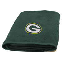 Green Bay Packers NFL Applique Bath Towel
