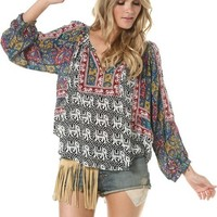 TOLANI RUBY ELEPHANTS TOP | Swell.com