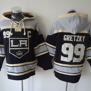 Los Angeles Kings - WAYNE GRETZKY #99 Vintage NHL Sweatshirt