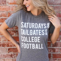 Saturdays & College Football