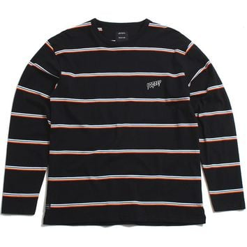 Sound & Fury Longsleeve Stripe T-Shirt Black / Multi