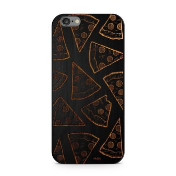 Black Bamboo - Pizza Phone Case