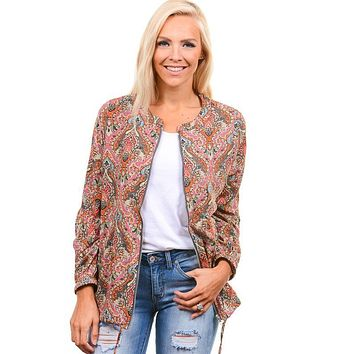 Colorful Paisley Jacket