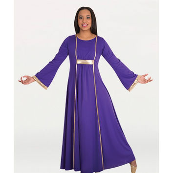 Praise Dress with Princess Seam Panels
