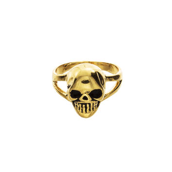 Skull Knuckle Ring