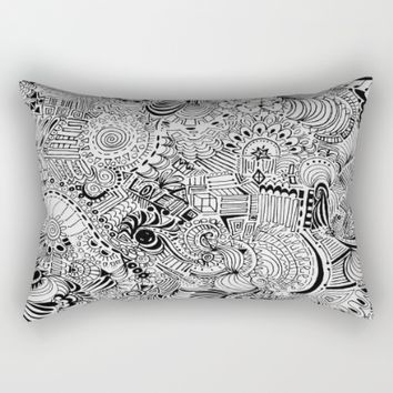Love Within Rectangular Pillow by Ducky B