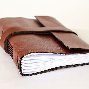 leather journal, travel journal, travel notebook, leather diary sketchbook, leather notebook, blank book, hand bound