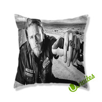 Jax Teller Sons Of Anarchy Square Pillow Cover