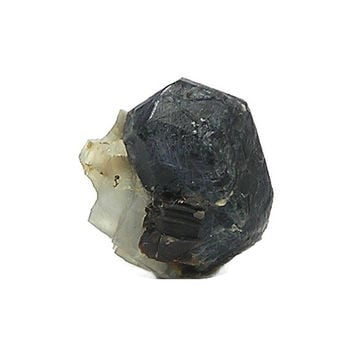 Sapphirine Crystal Rare blue Small Mineral Geo Specimen from Madagascar, African Earth Treasures, for the expert rock and mineral collector