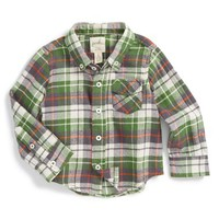 Infant Boy's Peek 'Big Horn' Plaid Shirt,