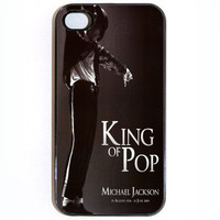 iPhone 4 4s Case, Michael Jackson RIP iPhone 4 Case in Black or White