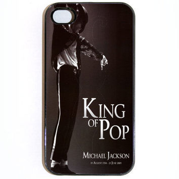 iPhone 4 4s Case Michael Jackson RIP iPhone 4 Case by KustomCases