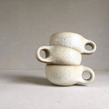 CAPPUCCINO MUG 10 oz, ceramic, ceramics, pottery, handmade, rustic, coffee, teacup, tea cup, small mug, smallmug, smallcup, potterymug