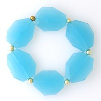 Supermarket: Blue quartz stretch bracelet from Jenny Dayco