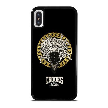 CROOKS AND CASTLES BANDANA iPhone X Case Cover