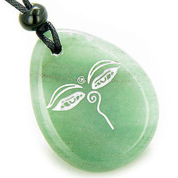 Magic Old Tibetan All Seeing Eye of Buddha Amulet Aventurine Lucky Wish Stone Pe