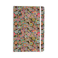 """Julia Grifol """"My Butterflies & Flowers in Brown"""" Rainbow Floral Everything Notebook"""