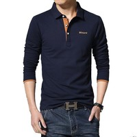 Casual Polo Shirt Men Fashion