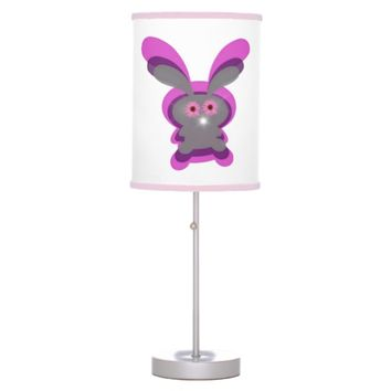 Pink Boog Bunny Table Lamp