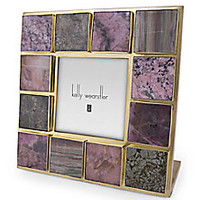 Kelly Wearstler - Curated Gemstone Picture Frame <br> - Saks Fifth Avenue Mobile