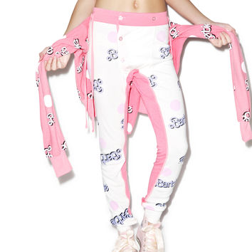 Wildfox Couture Everywhere Barbie Campfire Leggings Dusty Pink