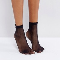 Gipsy Micro Fishnet Sock at asos.com