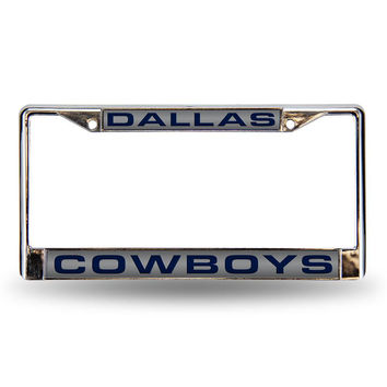 Dallas Cowboys NFL Laser Chrome Frame