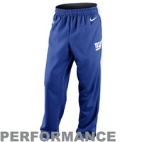 Nike New York Giants Shield Nailhead Performance Pants - Royal Blue