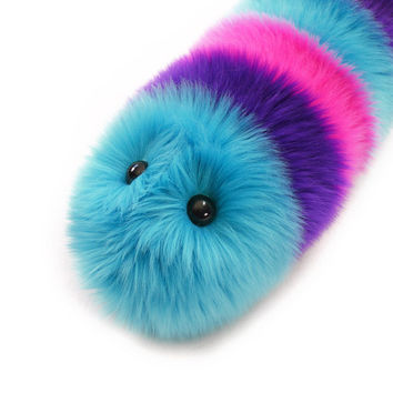 Calypso Stuffed Toy Fuzzy Caterpillar Snuggle Worm by Fuzziggles