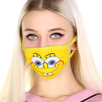 SPONGEBOB FACE MASK
