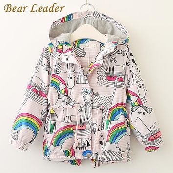 Right Away Rainbow Printed Jacket