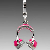 Juicy Couture Headphones Charm in Silver from REVOLVEclothing.com