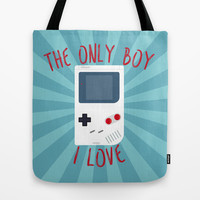 The only BOY i love! Tote Bag by Alessandro Aru