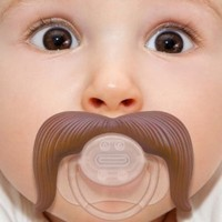 The Cowboy Mustache Pacifier