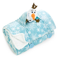 Olaf Blanket and Mini Plush - Personalizable