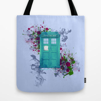 Doctor Who Tote Bag by Laain Studios | Society6