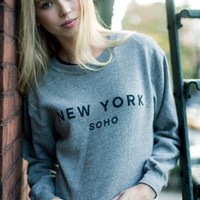 NANCY SOHO, NY SWEATSHIRT