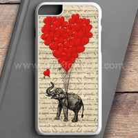 Elephant And Heart iPhone 6 Plus Case | casefantasy