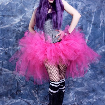 Bubblegum Pink Trashy bustle TuTu MTCoffinz ALL SIZES
