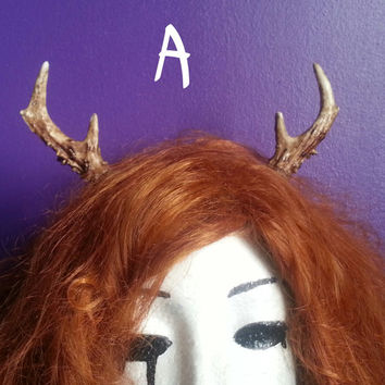Mini Deer antlers headband,