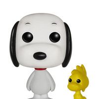 Funko Pop! Peanuts: Snoopy And Woodstock Figure White One Size For Women 27908915001