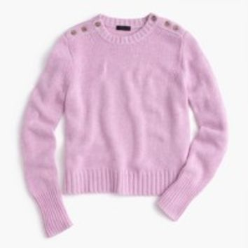 Cropped sweater in everyday cashmere