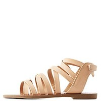 CAGED FLAT SANDALS