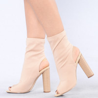 Kingdom Rise Boot - Nude