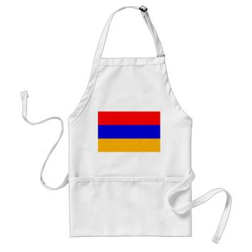 Apron with Flag of Armenia