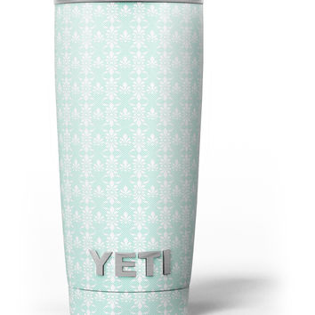 The All Over Mint Luxury Design Yeti Rambler Skin Kit
