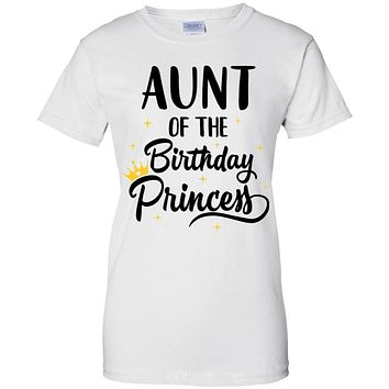 Aunt Of The Birthday Princess Matching Family Party